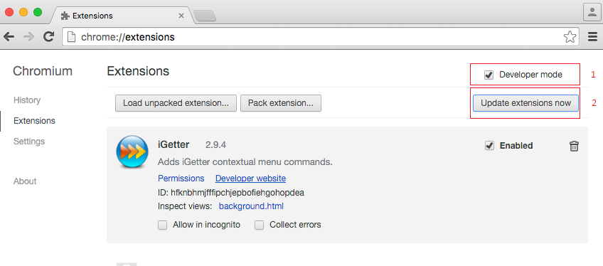 Forums - [Chrome] How to use Chrome's downloader instead of